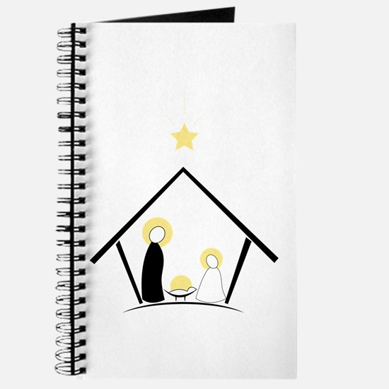 Baby In Manger Journal
