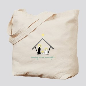 Away In A Manger Tote Bag