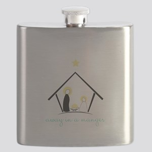 Away In A Manger Flask