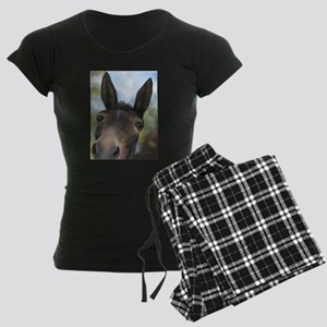 Brown Mule Art by Dawn Secord Pajamas