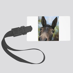 Brown Mule Art by Dawn Secord Luggage Tag