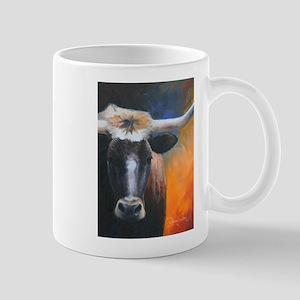 Long Horn by Dawn Secord Mugs