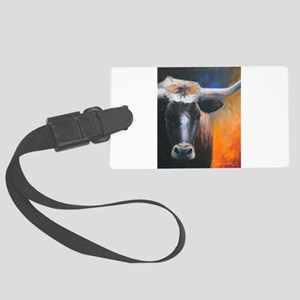 Long Horn by Dawn Secord Luggage Tag