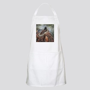 Roping Horse by Dawn Secord Apron