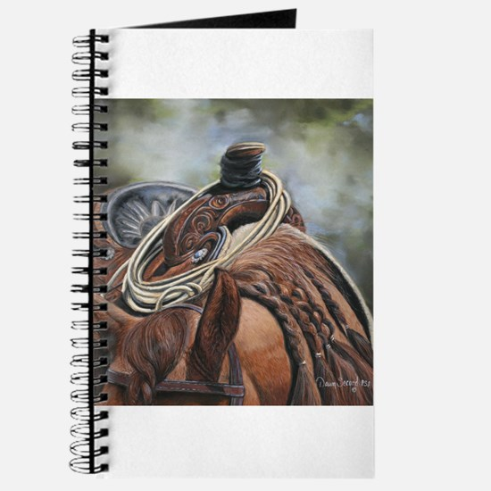 Roping Horse by Dawn Secord Journal