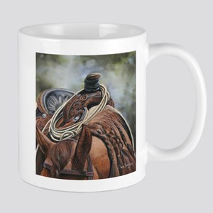 Roping Horse by Dawn Secord Mugs