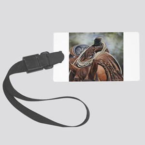 Roping Horse by Dawn Secord Luggage Tag