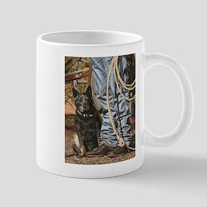 Australian Cattle Dog by Dawn Secord Mugs