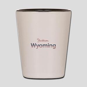 Custom Wyoming Shot Glass
