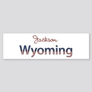 Custom Wyoming Sticker (Bumper)