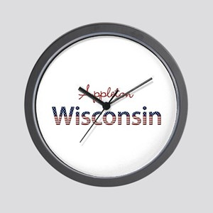 Custom Wisconsin Wall Clock