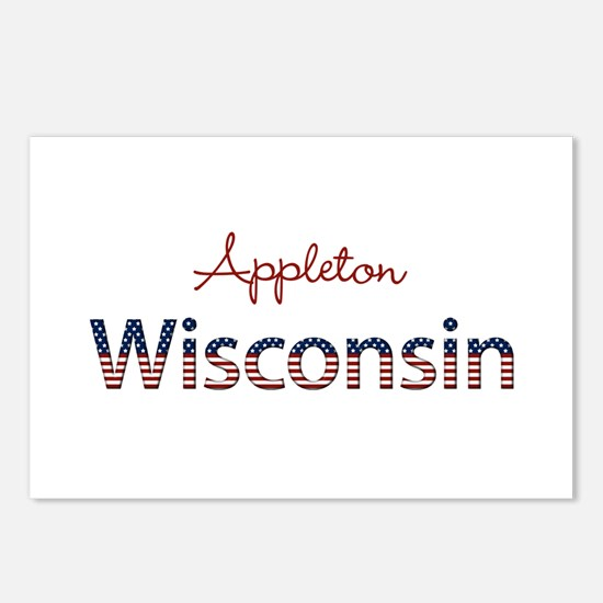 Custom Wisconsin Postcards (Package of 8)