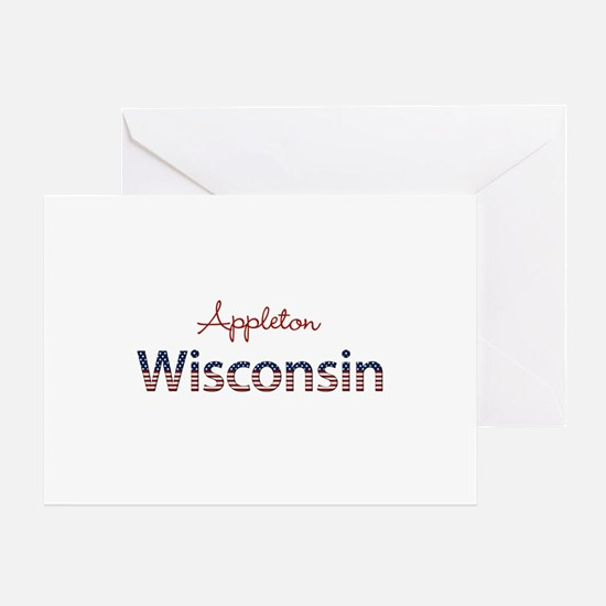 Custom Wisconsin Greeting Card