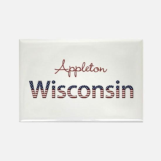 Custom Wisconsin Rectangle Magnet