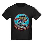 USS HORNET Kids Dark T-Shirt