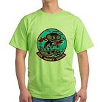 USS HORNET Green T-Shirt