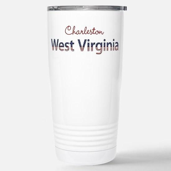 Custom West Virginia Stainless Steel Travel Mug