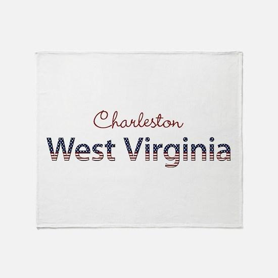 Custom West Virginia Throw Blanket