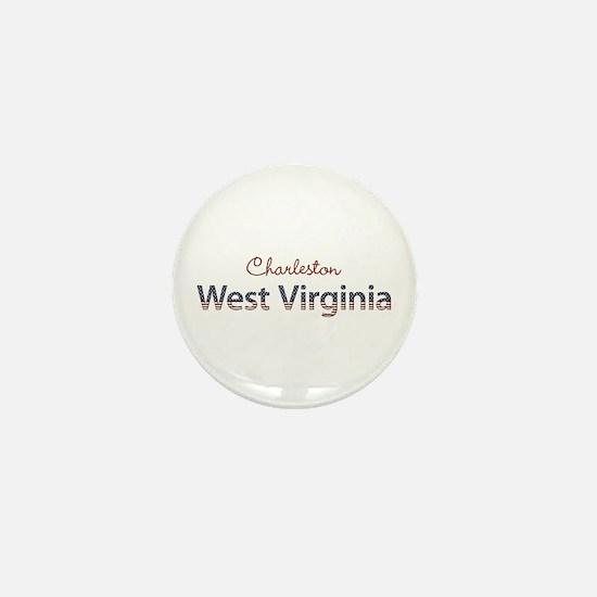 Custom West Virginia Mini Button