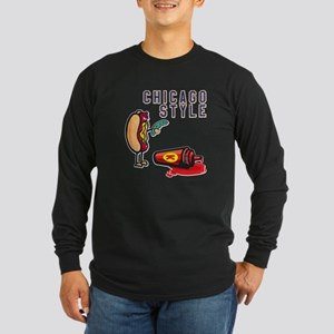 Chicago Style Long Sleeve T-Shirt