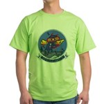 USS HORNET Green T-Shirt