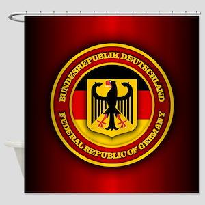 German Emblem Shower Curtain