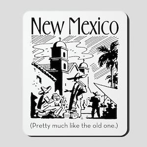 Vintage NEW MEXICO Mousepad