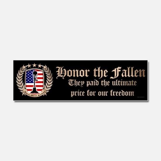 Honor the Fallen – Crest Car Magnet 10 x 3