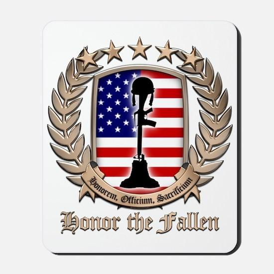 Honor the Fallen – Crest Mousepad