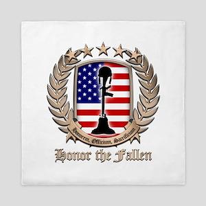 Honor the Fallen – Crest Queen Duvet