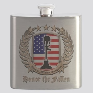 Honor the Fallen – Crest Flask