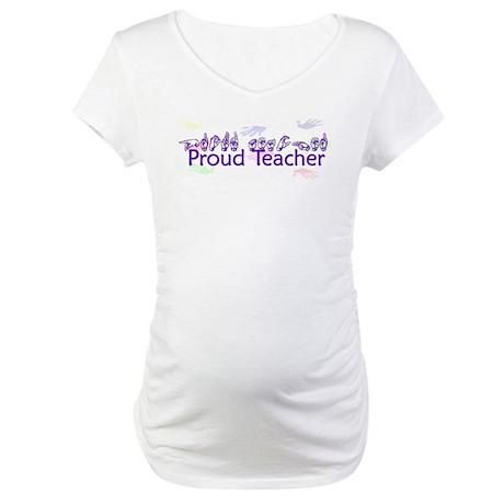 Purple Maternity T-Shirt