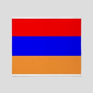 Armenia Flag Throw Blanket