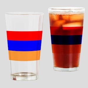 Armenia Flag Drinking Glass