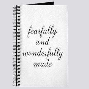 Fearfully and Wonderfully Made Script Journal