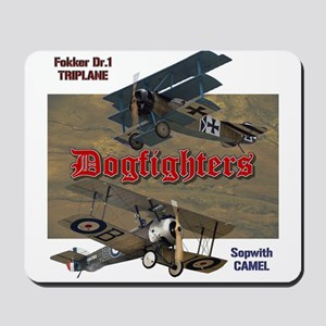 Dogfighters: Triplane vs Camel Mousepad