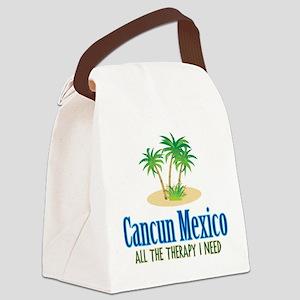 Cancun Mexico - Canvas Lunch Bag