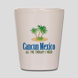Cancun Mexico - Shot Glass