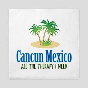 Cancun Mexico - Queen Duvet