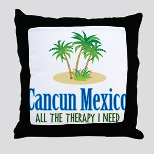 Cancun Mexico - Throw Pillow