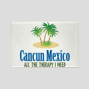 Cancun Mexico - Rectangle Magnet