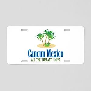 Cancun Mexico - Aluminum License Plate