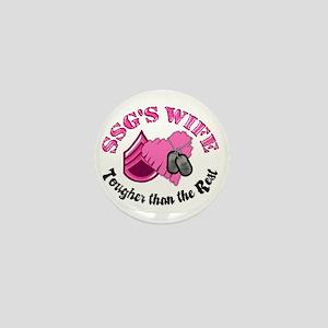 SSG's Wife Tougher Than the R Mini Button