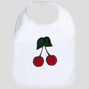 Red Cherries Bib