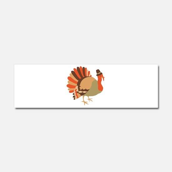 Thanksgiving Turkey Car Magnet 10 x 3