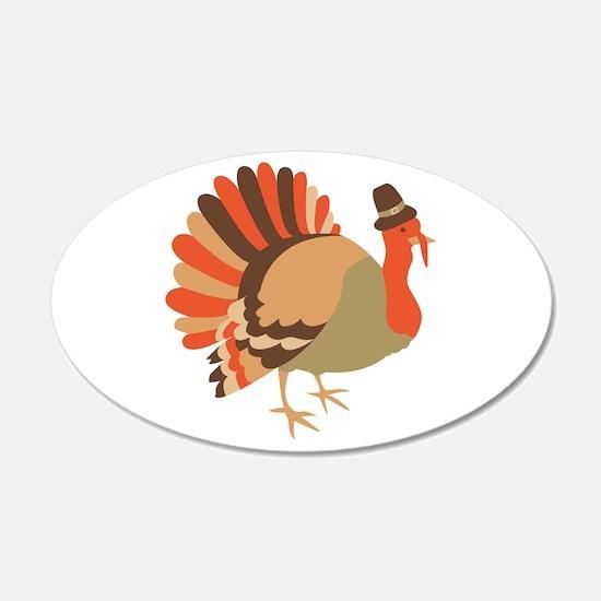 Thanksgiving Turkey Wall Decal
