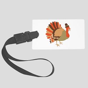 Thanksgiving Turkey Luggage Tag