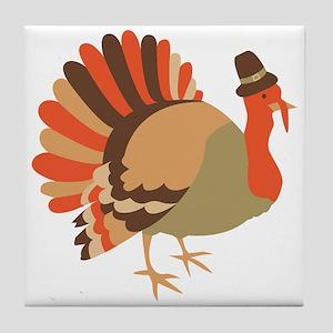 Thanksgiving Turkey Tile Coaster