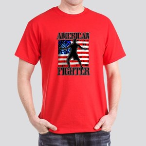 USA FIGHTER Dark T-Shirt