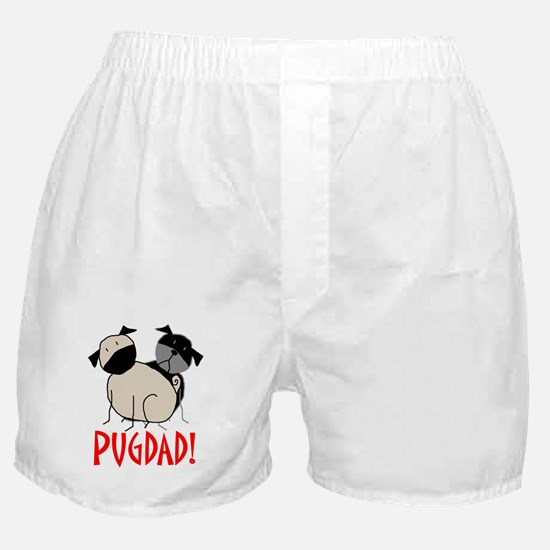 StickPugdad Boxer Shorts